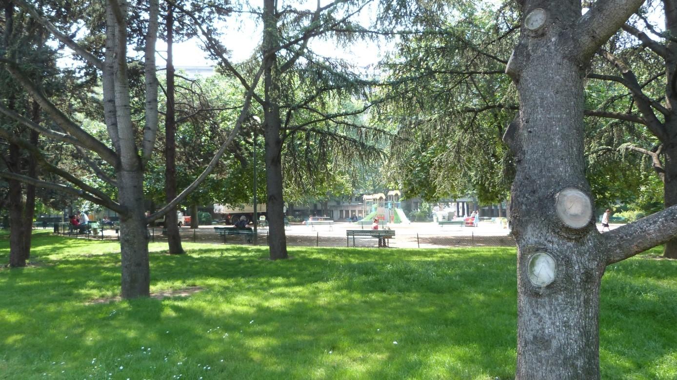 Place de la Mairie - Porte Blanche - Entrée du Parc de Saint-Cloud ...