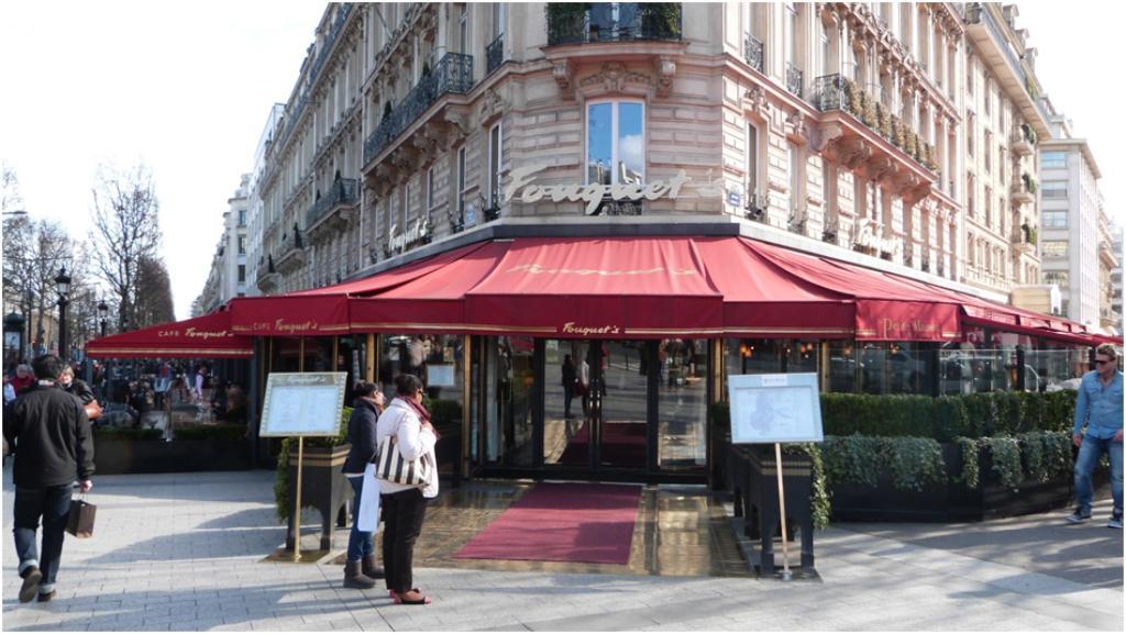 Le Fouquet S Restaurant Paris Prix
